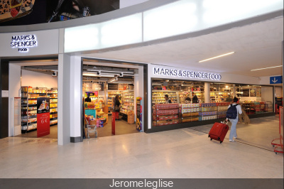 Marks & Spencer ouvre son 1er food store à l'aéroport Charles de Gaulle