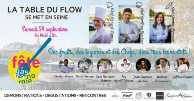 La Table du Flow se met en Seine