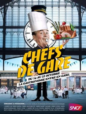 Chefs de gare : les gares de France célèbrent la gastronomie