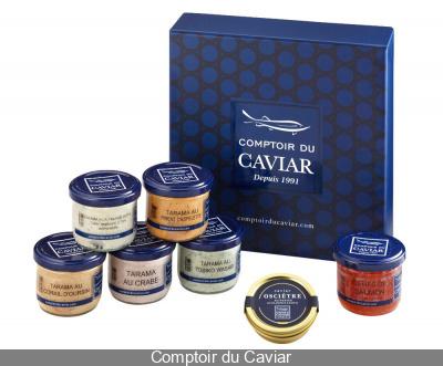 """Le coffret """"Comptoir du Caviar"""" pour les fêtes"""