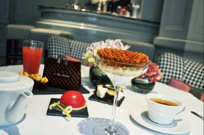 Afternoon tea couture à l'Hôtel Vendôme