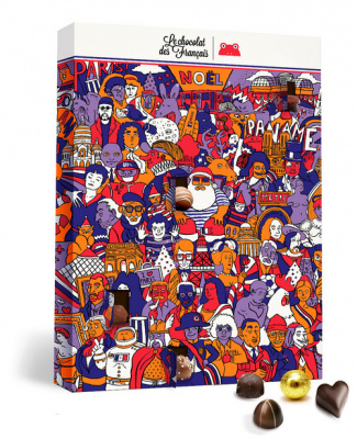 Calendrier de l'Avent 2016 Le Chocolat des Français