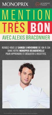 Le Cooking Show de Monoprix avec Alexis Braconnier