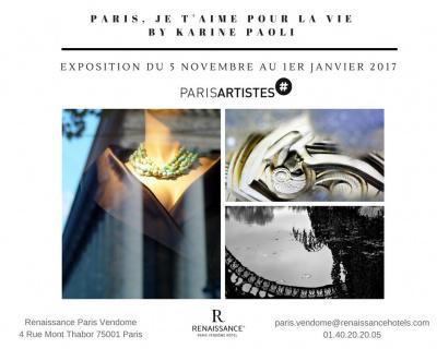 """""""Paris je t'aime pour la vie"""" à l'Hôtel Renaissance Paris Vendôme"""