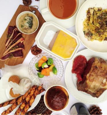 Le coffret repas de fêtes de l'Inconnu