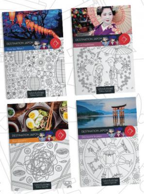 Cahier culture et coloriages offert aux enfants chez Matsuri