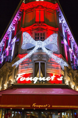 Réveillon du Nouvel An 2017 au Fouquet's Paris