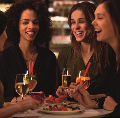 Les soirées ladies chez Vapiano