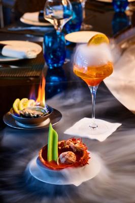 Happy Oyster et cocktails moléculaires au Bar à Huîtres