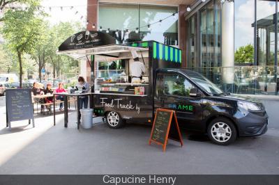 Ouverture du food truck de la brasserie FR/AME