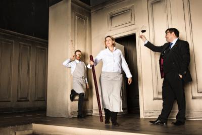 """Menu """"Le banquet de Platon"""" au restaurant La Scène, Hôtel Prince de Galles"""