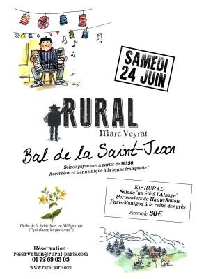 Bal de la Saint-Jean chez Rural by Marc Veyrat
