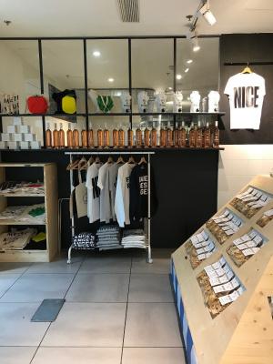 """Les Niçois installent un pop-up store """"French Riviera"""" aux Galeries Lafayette"""