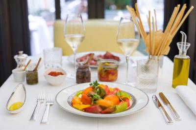 Grand déjeuner à l'italienne au Royal Monceau