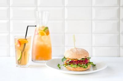 """Beet The Roots"" : le premier burger vegan d'Ellis Gourmet Burger"