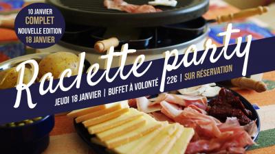 Nouvelle raclette party au C.O.Q Hôtel !