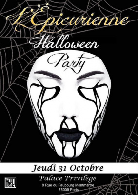 HALLOWEEN PARTY L'Epicurienne