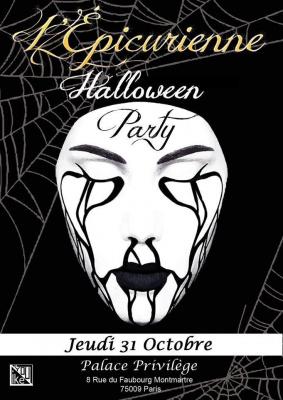 HALLOWEEN PARTY L'Epicurienne