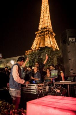 Guinguette Tour Eiffel Paris 2015