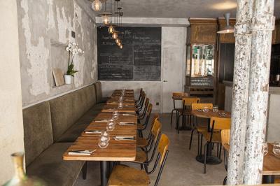 Restaurant Pages Rue Auguste Vacquerie