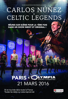 Carlos Nunez et Celtic Legends
