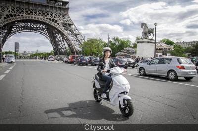 Cityscoot Paris 2016