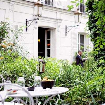 Les Somptueux Jardins De L 39 H Tel Particulier Montmartre