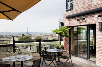 Top 10 des terrasses ouvertes au mois d 39 avril 2016 paris for Bar exterieur paris