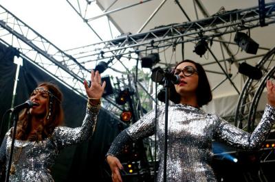 Brigitte au Festival Soirs d'été Oüi Fm 2011