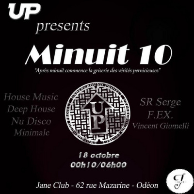 Minuit 10 meet SR Serge from NYC