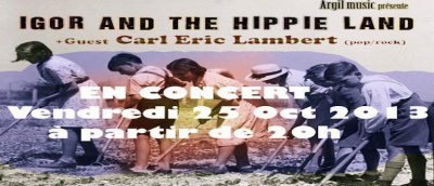 IGOR AND THE HIPPIE LAND X CARL ERIC LAMBERT