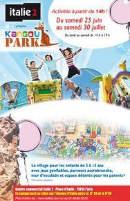 it plage, kangoo park, animations enfant, italie 2