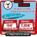 vente flash aquaboulevard, réduction aquaboulevard