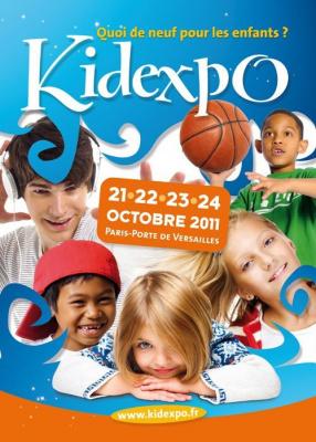 kidexpo 2011, parc des expos, porte de versailles, animations pour enfants, jeux pour enfant