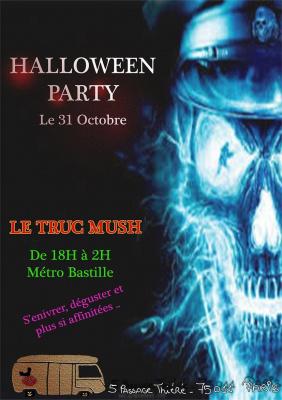 soiree halloween