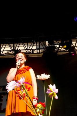 Luce sur le Parvis de l'Hôtel de Ville pour le Festival Fnac Live 2011