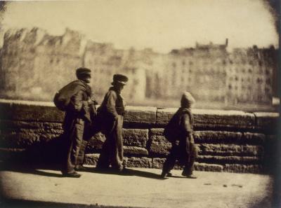 """""""Les ramoneurs, avant mai 1852"""". Photographie : Charles Nègre (1820-1880). Paris, musée Carnavalet."""