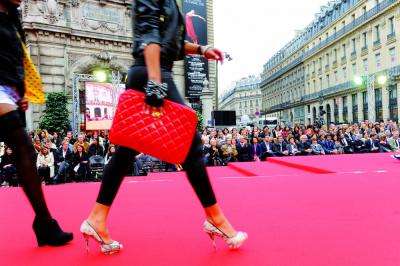 Défilé, Capitales Mode, Galeries Lafayette,