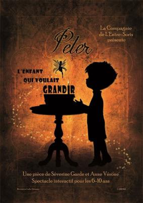 Peter, spectacle enfant, théâtre Aktéon