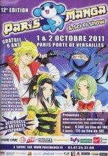 Paris manga sci fi show 2011 for Porte de versailles salon manga