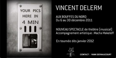 Vincent Delerm, Théâtre des Bouffes du Nord, Concert, Spectacle, Musique