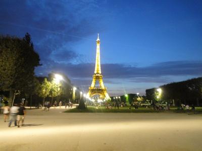 Tour Eiffel, Champ de Mars