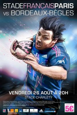 Stade Français, Union Bordeaux-Bègles, Rugby, Top 14, Stade Charléty