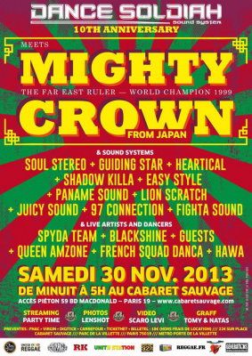 DANCE SOLDIAH 10TH ANNIVERSARY - MIGHTY CROWN & GUEST