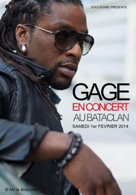 GAGE en concert au Bataclan