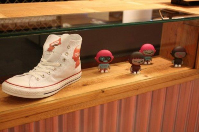 customiser ses converses en live, citadium, paris 9e, converse, all star, sneakers