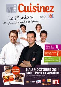 salon cuisinez 2011, cuisinez avec les chefs, m6