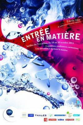entrée en matière, événement scientifique, cnrs, jardins du trocadero, paris