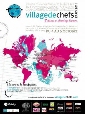 village de chefs, paris, 2011, chefs des 5 continents, espace mobalpa, école grégoire ferrandi
