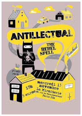 Antillectual + The Rebel Spell + Crashed
